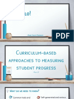 Curriculum Based Assessment Part 2