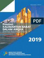Provinsi Kalimantan Barat Dalam Angka 2019