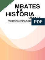 Plata Form a 2019