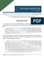 Jurisprudencia Em Teses 52 - Execucao Fiscal