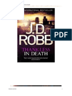 Robb, J.D. - Eve Dallas 37 - Thankless in Death