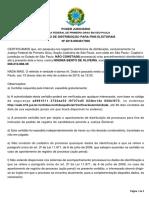 CERTIDAO  ELEITORAL  DE NOEMIA  BENTO DE OLIVEIRA
