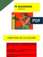 La Fe Salvadora