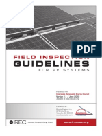 PV Field Inspection Guide June 2010 F 1