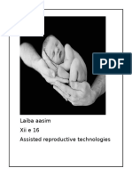 Assiated Reproductive Technology Ip