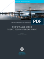EGBC Perf Based Seismic Design of Bridges in BC