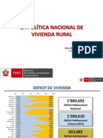 PPT Del Viceministerio de Vivienda y Urbanismo - VUU