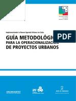 Guía Metodológica Para La Operacionalización de Proyectos Urbanos