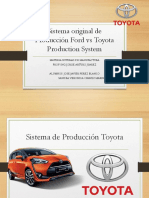 SISTEMA DE PRODUCCION TOYOTA VS FORD