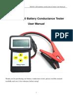 Analizador de baterias 12v
