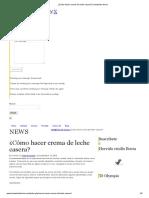 ¿Cómo Hacer Crema de Leche Casera_ _ Industrias Iberia