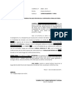 Apersonamiento Segunda Fiscalia -