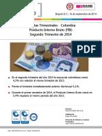 Cuentas Trimestrales (PIB) 2014