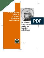 Catequesis franciscanas