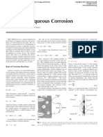 Kinetics of Aqueous Corrosion