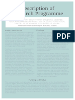 Grace Susetyo Description of Amungme Research Programme