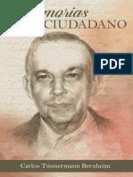 Memorias de Un Ciudadano CarlosTunnermann