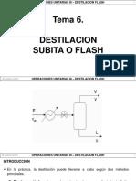 6.2 - Destilacion Flash