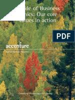 Accenture core values