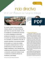 Experiencia directiva en el CEIP Andalucía