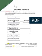 recrutment procedures