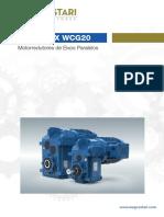 WEG Cestari Motorredutor WCG20 Vertimax 03 2019 700 Portugues Br