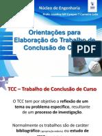 Orientação para elaboração de Tcc