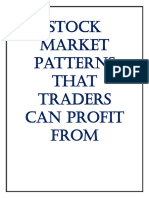 Stock Market Patterns That Traders Can Profit From