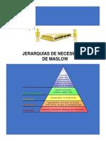 JERARQUÍAS DE NECESIDADES DE MASLOW