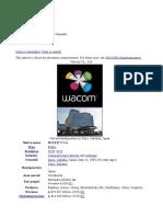 WACOM History