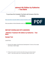 Addiction Treatment 4th Edition by Katherine – Test Bank