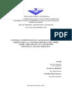 VACIADO DE CONCTRETO RIGIDO PARA LA VIALIDAD