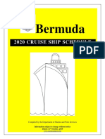 2020 Cruise Ship Schedule