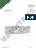 Informe de la Delegación del Gobierno en la Comunidad de Madrid sobre los problemas de exhumar a Franco en la Catedral de la Almudena.