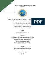 Electrodeposicion y Electrorefinación