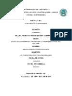 ETAPAS DE ENFERMERIA