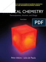 Atkins - Physical Chemistry 10th Edition c2014 Solutions ISM