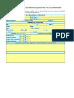 Ficha de Inscripcion Auriculoterapia