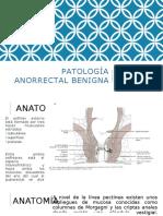 Patología Anorrectal Benigna