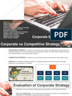 Corporate Strategy Group10