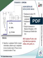 Projetos de Sistemas Mecânicos UFSJ