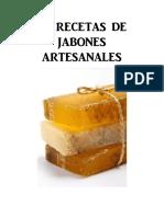 30 Recetas de Jabones Artesanales Libro Digital