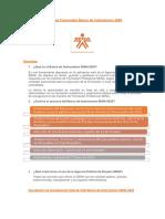 Preguntas Frecuentes Banco de Instructores 2020