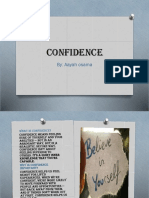 Confidence Ppt Aayah