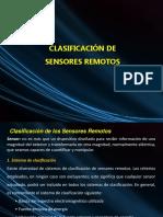 Clasificacion de Los Sensores Remotos