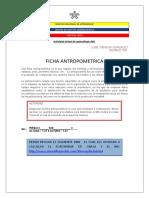 Ficha Antropometrica Act. 3