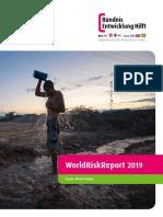 Reporte Mundial de Riesgos -2019