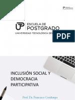 Inclusión Social Demo Participativa I Ppt