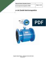 Manual Flujometro Magnetico C-rom