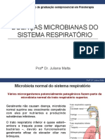 Doenças microbianas do Sistema Respiratório
